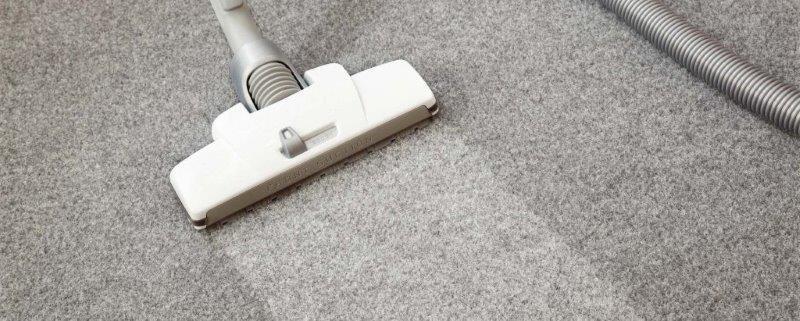 Higienização de carpete a seco