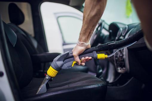 Higienização de estofados de automoveis