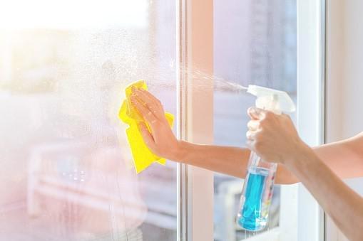 Higienizacao de vidro