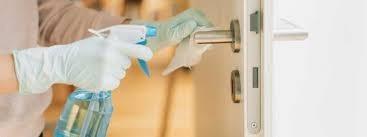 Serviço de desinfecção coronavirus