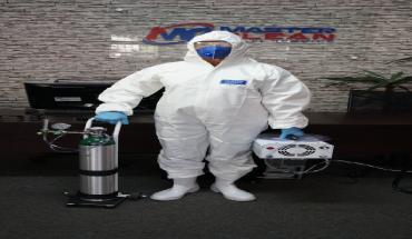 Sistema Oxi-Sanitização - Gás de Ozônio 03 - Ambientes Fechados