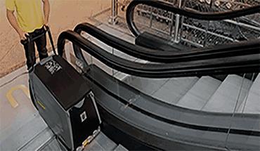 Limpeza de Escadas Rolantes